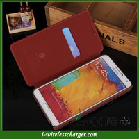 Vintage Retro Luxury Book Purse Leather Flip Case For Samsung Galaxy Note 3 III N9000 Flip Brown Black Roes Pink Blue DropShip
