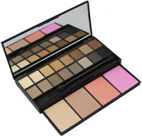 New  20 Colors Double Layer Makeup Blush Blusher Powder Palette  Eye Shadow Palette  for party  /casual /wedding makeup