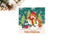 1 Pack 20 PCS Christmas Series Colorful Party Paper Napkin 33X33CM Pattern 5