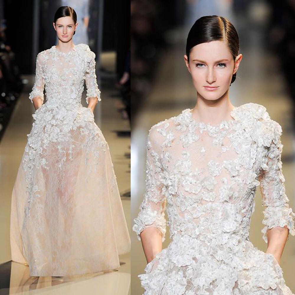 Вечернее платье Elie Saab A213 вечернее платье the covenant of sexy goddess 2015 elie saab vestidos evening dresses