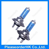 2x Car Halogen Xenon H7 55W 6000K Bulbs PX26D Light Super White 12V  Low Beam