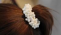Min.order is $10 (mix order)  Free Shipping,Korean Fashion Headband,Hair Ring,Bead Hairband