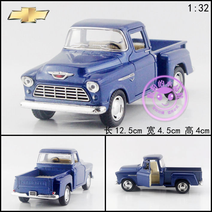 Soft world CHEVROLET Picard's small truck pickup alloy car model toy open the door(China (Mainland))
