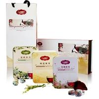 Gift PU er tea flower tea smell flowers gift box set mini tuo tea cooked tea gift box
