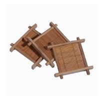 Bamboo mat, pot holder, pot mat, cup holder, coasters, kung fu tea accessories,wholesale!