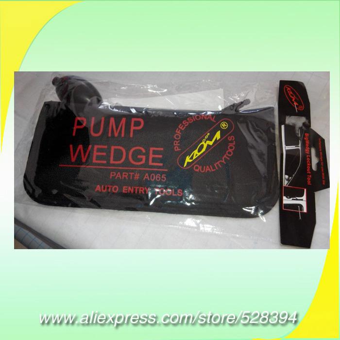 High Quality Black S/M/L/U KLOM PUMP WEDGE Airbag Big Size New for Universal Air Wedge set ,LOCKSMITH TOOLS door lock opener(China (Mainland))
