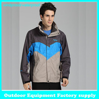 Dropshipping New winter ski 2 layer Jacket hiking camping 3 in1 Sportswear Waterproof windproof Outerwear outdoor jacket men