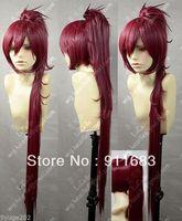 Puella Magi Madoka Magica Kyoko Sakura Red Cosplay Wig