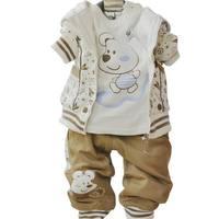 2014  children   Clothing  Set        coat+T-shirt+pants     baby   three piece    free shiping