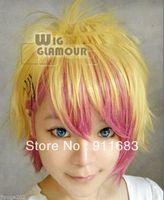 Uta no Prince sama Cosplay Blonde Mixed Pink Short Wig
