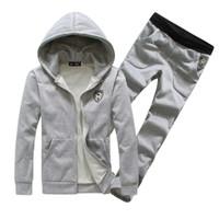 2014 spring plus size sweatshirt  casual set  men's clothing sports set with hoodies sportswear sport suit men men sport set