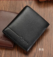 Hot Sale Retail New Arrival Men's High Quality Genuine Leather Male Purse Men Leather Wallet Low Price