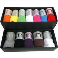 Better quality 10 pcs/lot Modal Sexy Men Boxer Shorts Men's Boxers Mens underwear 11 color SIZE:M-XXL Can mix order