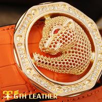 Ms. male leather belt leather brand casual belt belt buckle belt alloy wholesale PD022 + A9