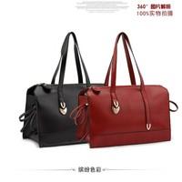 2014 Korean version of the new retro motorcycle bag tide bow portable shoulder bag diagonal handbags