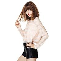 New 2014 Womens Fashion European Style Womens Shirt ,Women Shirt Long Sleeve,Free Shipping