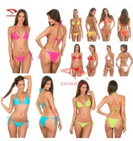 2014 New Sexy Bikini Swimwear & Swimsuit Beach Bikini Dress Sexy Beachwear (Lingerie Bra + T-Back Sets) BI25