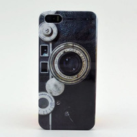 Vintage Camera Hard PC Phone Case For Iphone 5 5S jpr pwf