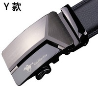 New 2014 fashion summer American paul strap male genuine leather hip metal belt casual men automatic buckle brand waist belts