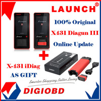 2014 New Arrival Auto Diagnostic Scanner Launch X431 Diagun III 100% Original Update via internet X-431 Diagun 3