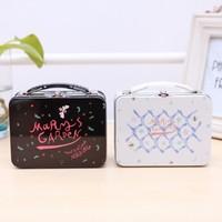 2014 storage box  iron box tin box  14x10.5x6.2cm Free shipping