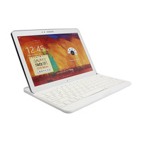 Ultra Slim White Wireless Bluetooth Keyboard Case Dock For Samsung Galaxy Note 10.1 2014 Edition P600 P601 P605