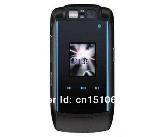 unlocked V3X original mobile phones original 3G dual camera bluetooth cell phone russian keyboard dropshipping(China (Mainland))
