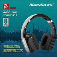 Newest Bluedio R2-WH HIFI monitoring  Headset,  8 track 8 speaker/ noise cancelling ,fever headphones