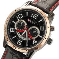 10 Meters Waterproof Men's Watch Relogio Masculino Quartz  Casual Curren Watches Men Luxury Brand Steel Table Movement #50b3