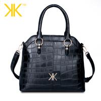 2014 kk bags new winter fashion handbags shoulder handbag crocodile pattern mobile messenger bag large package - free shipping
