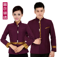 Collar work wear autumn and winter top quality uniforms