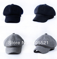 New Ladies Newsboy Beret Hat Cabbie Cap Visor Beret Dress Hat For Winter And Autumn