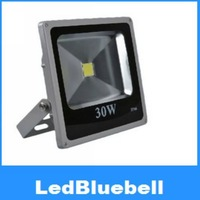 Untra Thin 30W Landscape Lighting Waterproof LED Flood Light Outdoor Wall Lamp AC85~265V