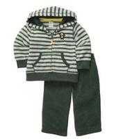 BA013 Free shipping new carter's 2 pcs baby boy suit coat + pant baby clothing set cotton baby clothing set wholesale 5sets/lot