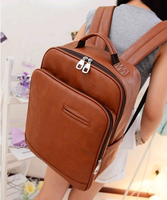 2013 women's handbag big bag candy color backpack preppy style casual backpack student school bag