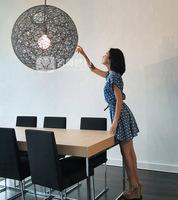 Lighting modern moooi brief ma yarn globe lamp twiner globe lamp pendant light