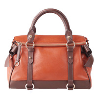 Bommie 5 2014 first layer of cowhide cross-body bow motorcycle bag cowhide women's handbag