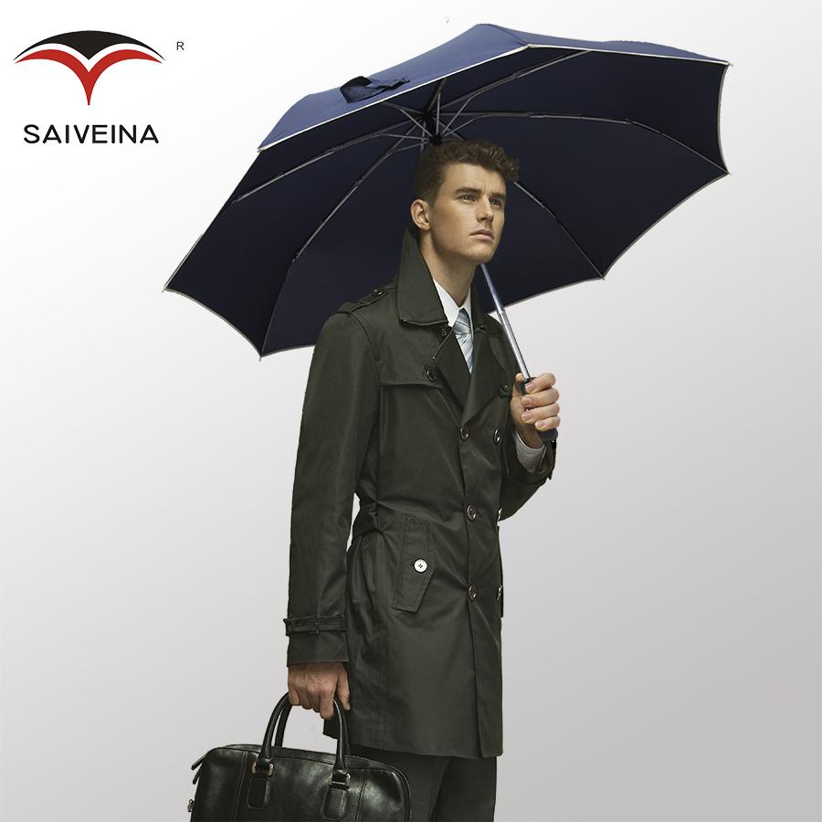 Fully-automatic saiveina male commercial umbrella solid color umbrella super large outdoor folding umbrella(China (Mainland))