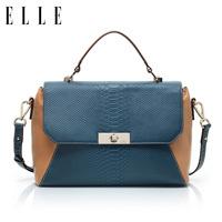 New arrival elle 13 fashion high quality serpentine pattern cowhide 36403 one shoulder cross-body women's handbag