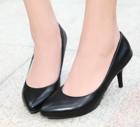 CooLcept free shipping high heel shoes women sexy dress footwear fashion lady spring pumps P11853 hot sale 31-43