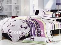 Good quality & Promotion ! 100% Cotton Shoes  print 4pcs 3d bedding sets