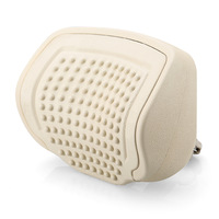 Beige color Pull-Push Car Headrest PU