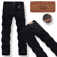 2014 Hot plus size men's fashion straight jeans blue jeans thickening, free shipping