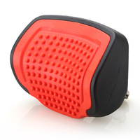 Red color Pull-Push Car Headrest Pillow PU