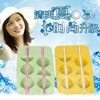 5pcs/lots Summer lemon  style ice self-restraint ice box / ice tray mould