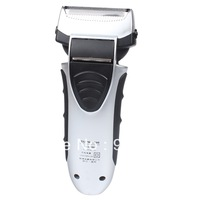 Protable Electric 2D Double-blade Reciprocating Rechargeable Shaver Razor 220V US Plug