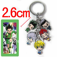 Free shipping  Fashion style Popular cartoon Hunter X Hunter Metal keychain  wholesale