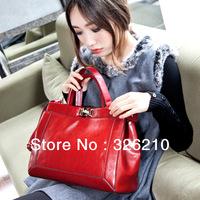 2014 FASHION genuine leather bags women handbags of famous brands shoulder bag