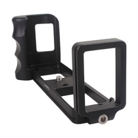 L-Vertical Aluminum Hand Grip w/ Quick Release Bracket for FUJI X-PRO1 Camera