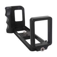 L-Vertical Aluminum Hand Grip w/ Quick Release Bracket for FUJI X-PRO1 Camera